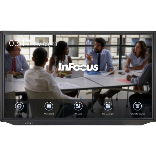 "InFocus 86"" JTouch Plus 4K Display with Android and Anti-Glare Coating"