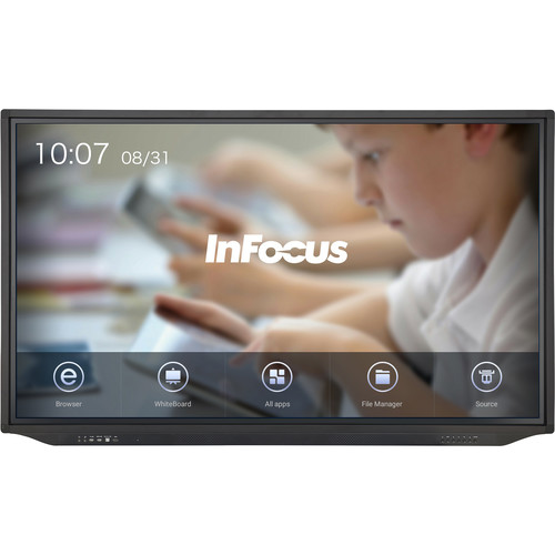 "InFocus 86"" JTouch Plus 4K Display with Android and Anti-Glare Coating (for K-12 Users Only)"