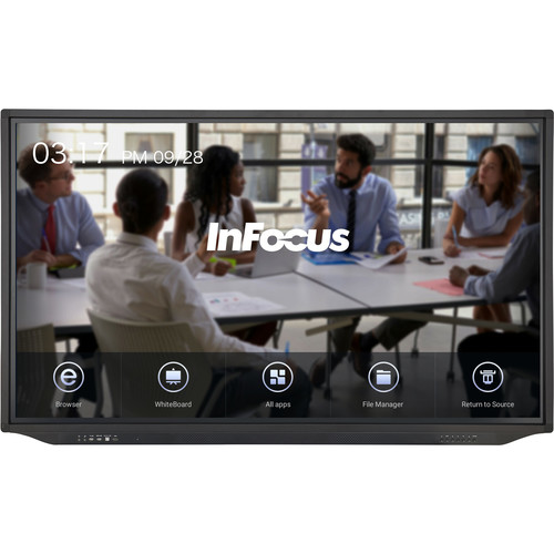 """InFocus JTouch Plus 86"""" 4K Anti-Glare Touchscreen Display with Android"""
