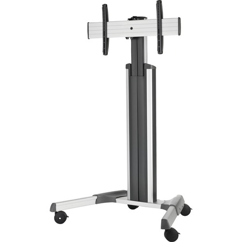 """InFocus INF-MOBCARTPRO-S Mobile Cart Pro for 57/65/70"""" JTouch, BigTouch, & Mondopad LCD Displays (Silver)"""