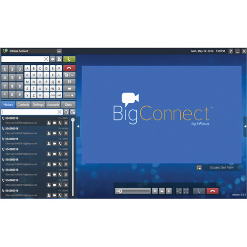 InFocus BigConnect Video Calling Software for PC