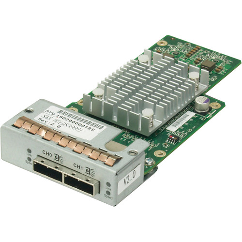 Infortrend EonStor DS 3000 Host Board with Two 16Gb Fibre Channel Ports