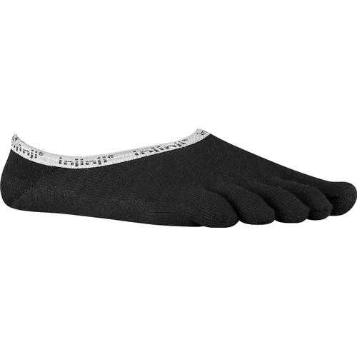 Injinji Sport Original Weight Ped Toesocks (Large, Black)