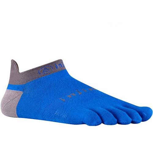 Injinji RUN 2.0 Large Lightweight No-Show Socks (Mariner Blue)