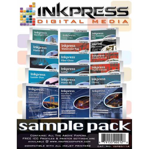 """Inkpress Media Sample Pack (8.5 x 11"""")"""