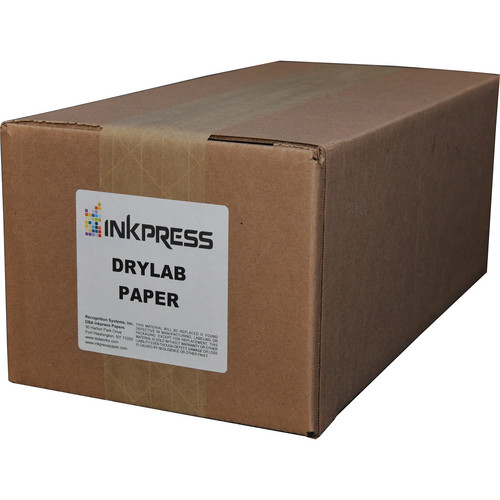 "Inkpress Media Luster Paper (4"" x 213' Roll, 2-Pack)"