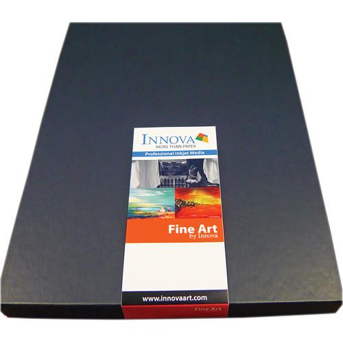 """Innova Soft White Cotton Fine Art Paper (17 x 22"""", 50 Sheets)"""