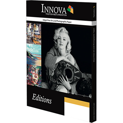 "Innova Exhibition Cotton Gloss (17 x 22"", 50 Sheets)"