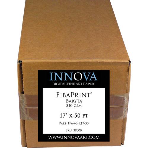"Innova FibaPrint Baryta Paper (17"" x 50' Roll)"