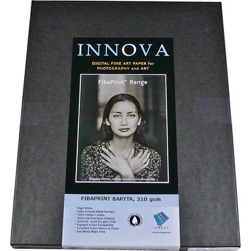 "Innova FibaPrint Baryta Paper (8.5 x 11"", 50 Sheets)"