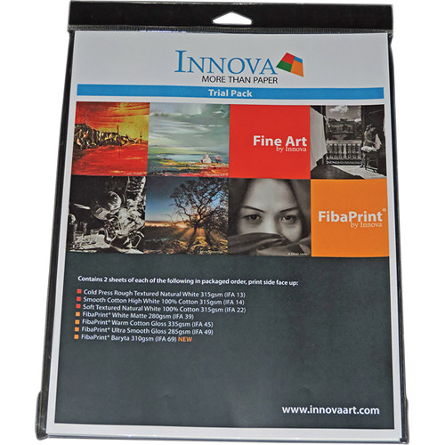 """Innova Sample Pack (8.5 x 11"""")"""