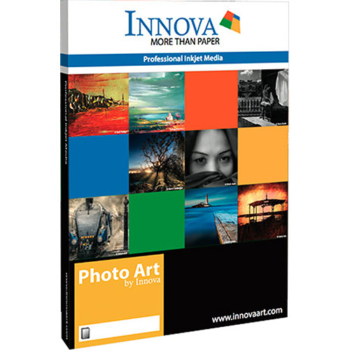 "Innova Resin Coated Photo Metallic Gloss Paper (44"" x 100' Roll)"