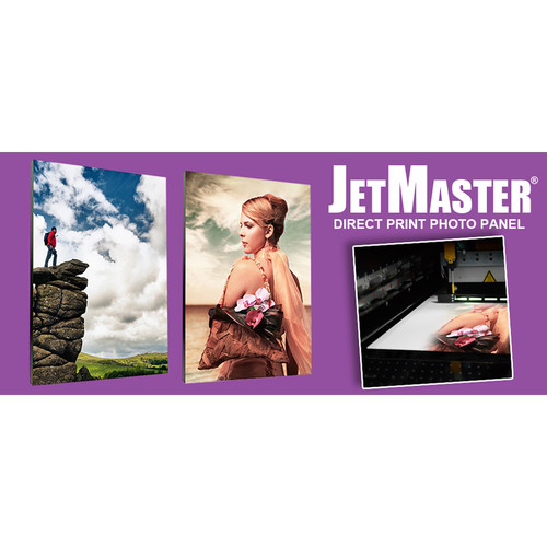 """Innova JetMaster Direct Print Photo Panel with Stand (8 x 10"""", 10-Pack)"""