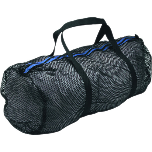 Innovative Scuba Concepts Heavy-Duty Mesh Duffel Bag (Large, Black/Blue)