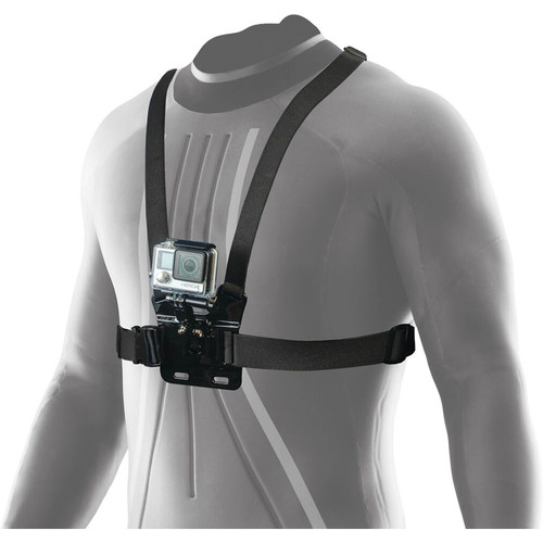 Innovative Scuba Concepts Pro Mounts Adjustable Chest Strap for Outdoor & Underwater Video