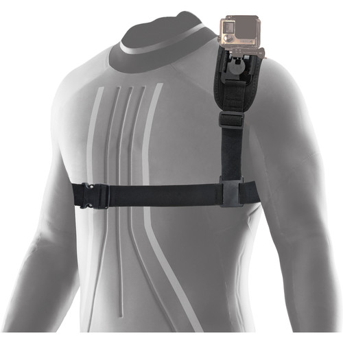 Innovative Scuba Concepts Pro Mounts Adjustable Neoprene Shoulder Strap for Select Action Cameras