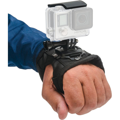 Innovative Scuba Concepts Pro Mounts Adjustable Hand Strap with 360-Degree Camera Rotation