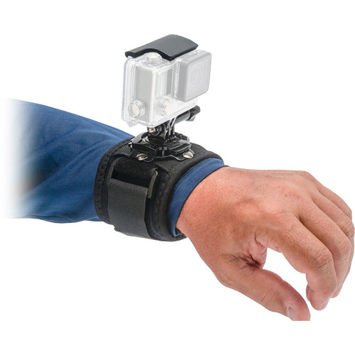 Innovative Scuba Concepts Pro Mounts Adjustable Neoprene Wrist Strap with 360-Degree Camera Rotation