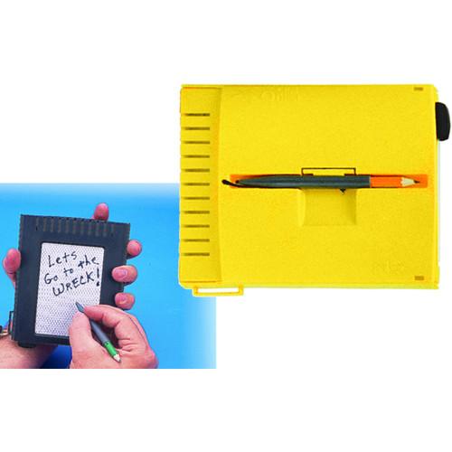 Innovative Scuba Concepts Mini Quest Underwater Erasable Slate (Yellow)