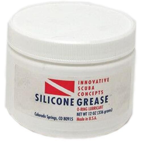 Innovative Scuba Concepts Silicone Grease (1/4-Ounce Jar)