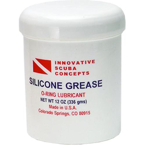 Innovative Scuba Concepts Silicone Grease (12-Ounce Jar)