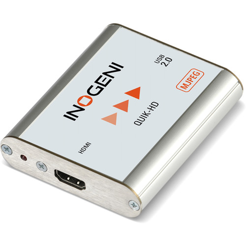 INOGENI HDMI to USB 2.0 Video Capture Card