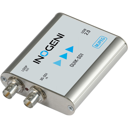 INOGENI SDI to USB 2.0 Video Capture Card