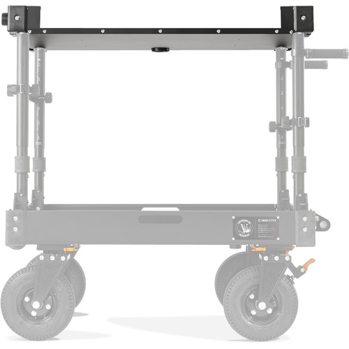"""Inovativ Rolled Lip X Top Shelf for Voyager 36 Carts (24 x 36"""")"""
