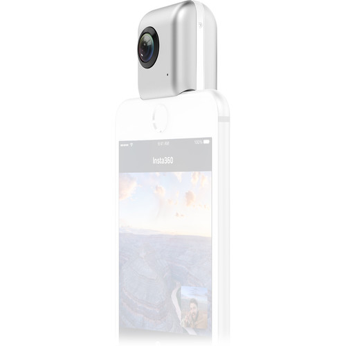 Insta360 Nano Spherical Video Camera for iPhone (Silver)