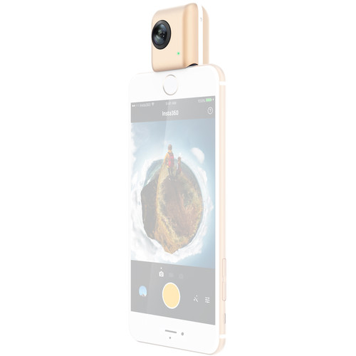 Insta360 Nano Spherical Video Camera for iPhone (Gold)