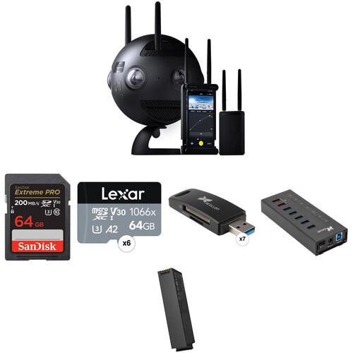 Insta360 Pro II Spherical VR 360 8K Camera Premium Kit