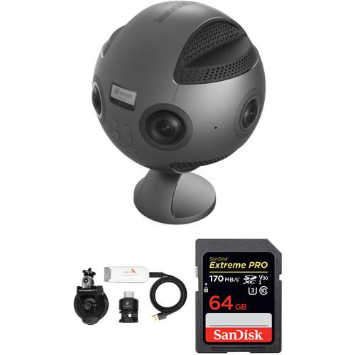 Insta360 Pro Camera & GPS Module Google Street View Kit