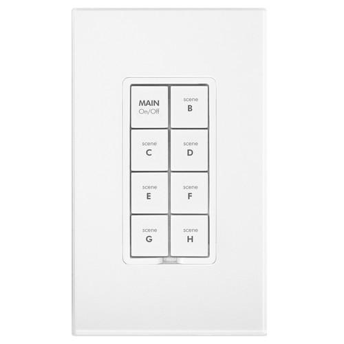 INSTEON 8-Button Keypad Dimmer (White)