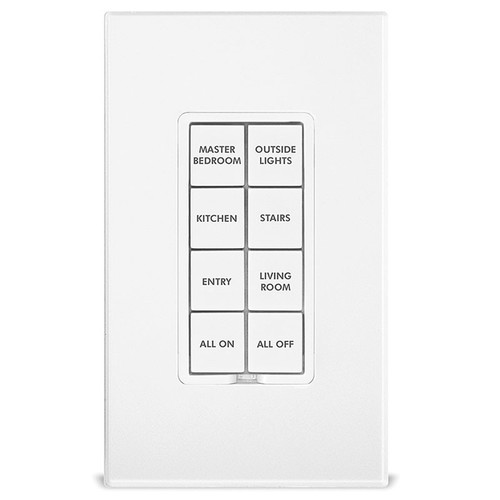 INSTEON Change Kit of 50 Pre-Printed Buttons for INSTEON Keypads (White)