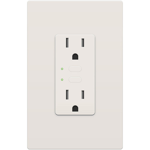 INSTEON Remote Control Dual On/Off Outlet (Almond)