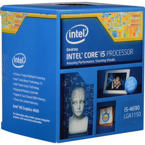 Intel Core i5-4690 3.5 GHz Quad-Core LGA 1150 Processor