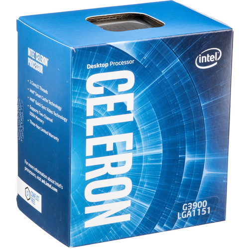 Intel Celeron G3900 2.8 GHz Dual-Core LGA 1151 Processor