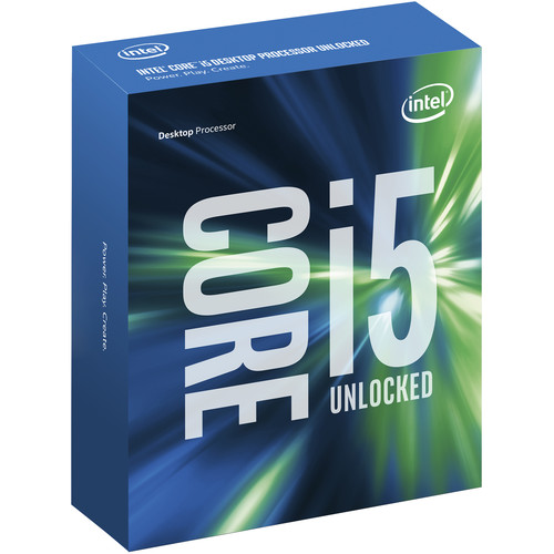 Intel Core i5-6600 3.3 GHz Quad-Core Processor (Retail)