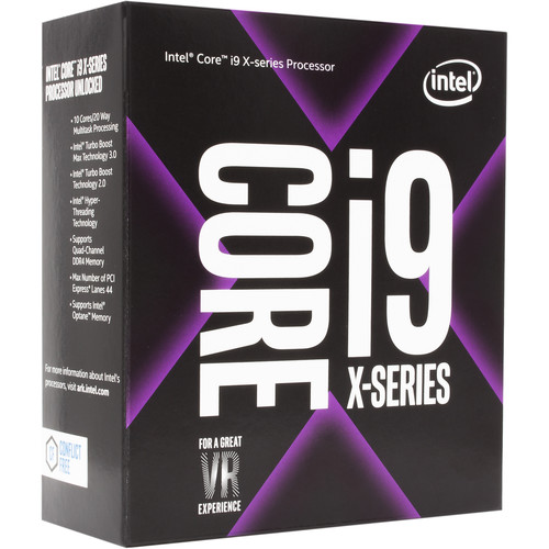 Intel Core i9-7940X X-Series 3.1 GHz 14-Core LGA 2066 Processor (Retail)