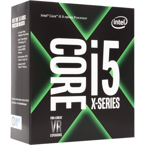 Intel Core i5-7640X X-Series 4.0 GHz Quad-Core LGA 2066 Processor