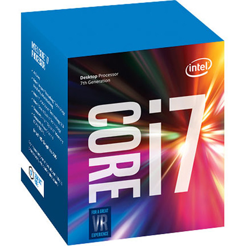 Intel Core i7-7700 3.6 GHz Quad-Core LGA 1151 Processor (Retail)