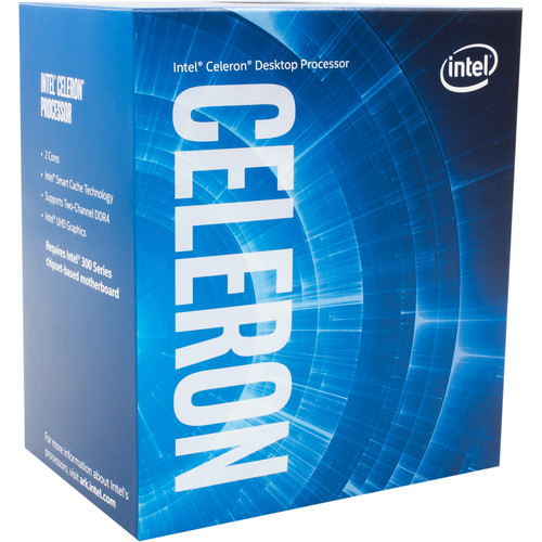 Intel Celeron G4900 3.1 GHz Dual-Core LGA 1151 Processor (Retail)