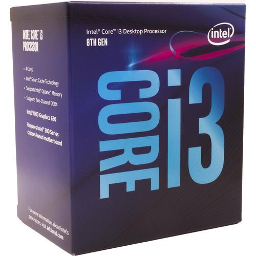 Intel Core i3-8300 3.7 GHz Quad-Core LGA 1151 Processor (Retail)