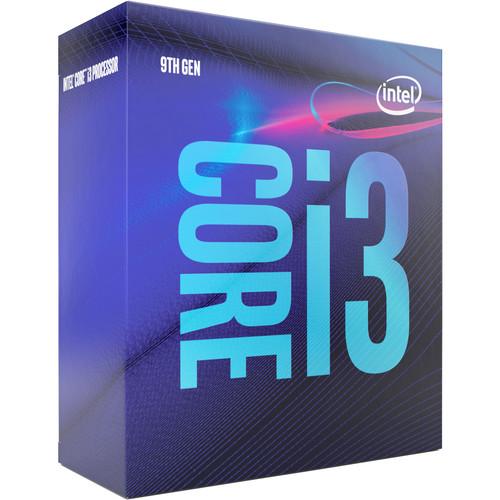 Intel Core i3-9100 Processor (Boxed)