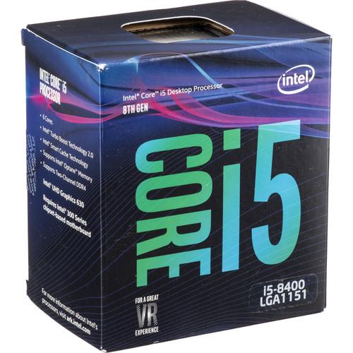 Intel Core i5-8400 2.8 GHz 6-Core LGA 1151 Processor