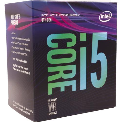 Intel Core i5-8500 3.0 GHz Six-Core LGA 1151 Processor (Retail)