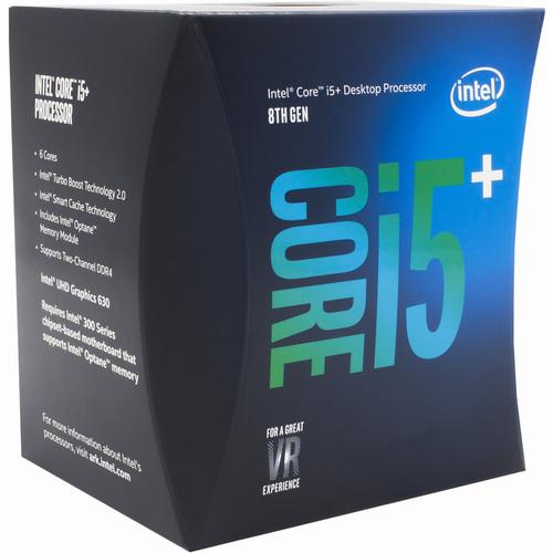 Intel Core i5-8600 3.1 GHz Six-Core LGA 1151 Processor (Retail)