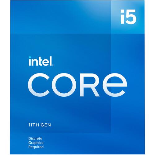 Procesador Intel Core i5-11400F 2.6 GHz de seis núcleos LGA 1200
