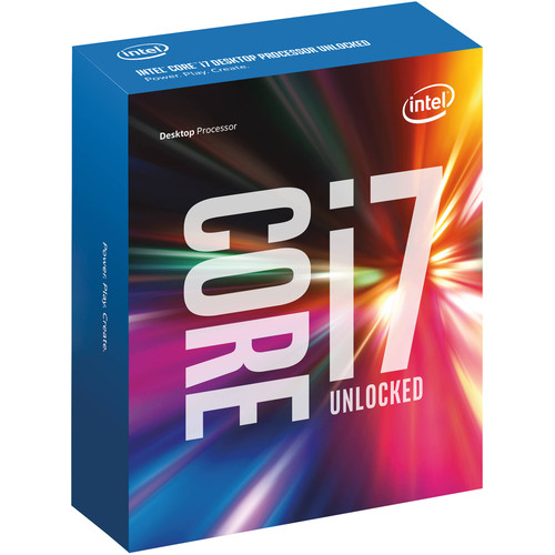 Intel Core i7-6850K 3.6 GHz Six-Core LGA 2011-v3 Processor (OEM)