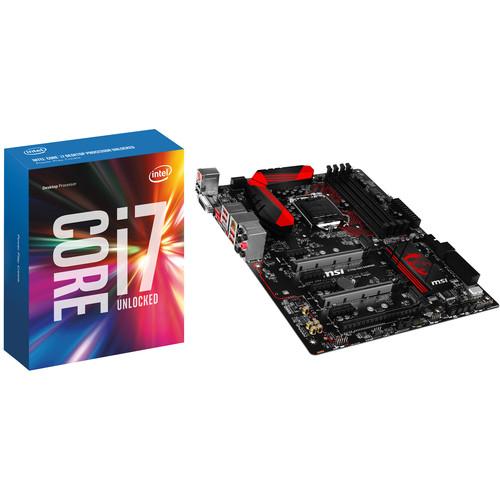 Intel Core i7-6700K 4.0 GHz Quad-Core LGA 1151 Processor with MSI Z170A-G45 Gaming LGA 1151 ATX Motherboard